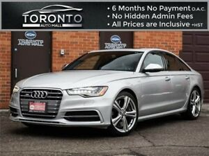 2013 Audi S6 Diamond Stitched|4.0T|Navigation|360 Camera|Bose