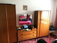 Wardrobe and dressing table