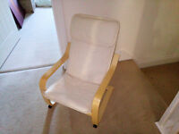 Childrens Lounge Chair very good clean condition