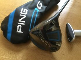 Ping G driver 10.5 adjustable immaculate condition