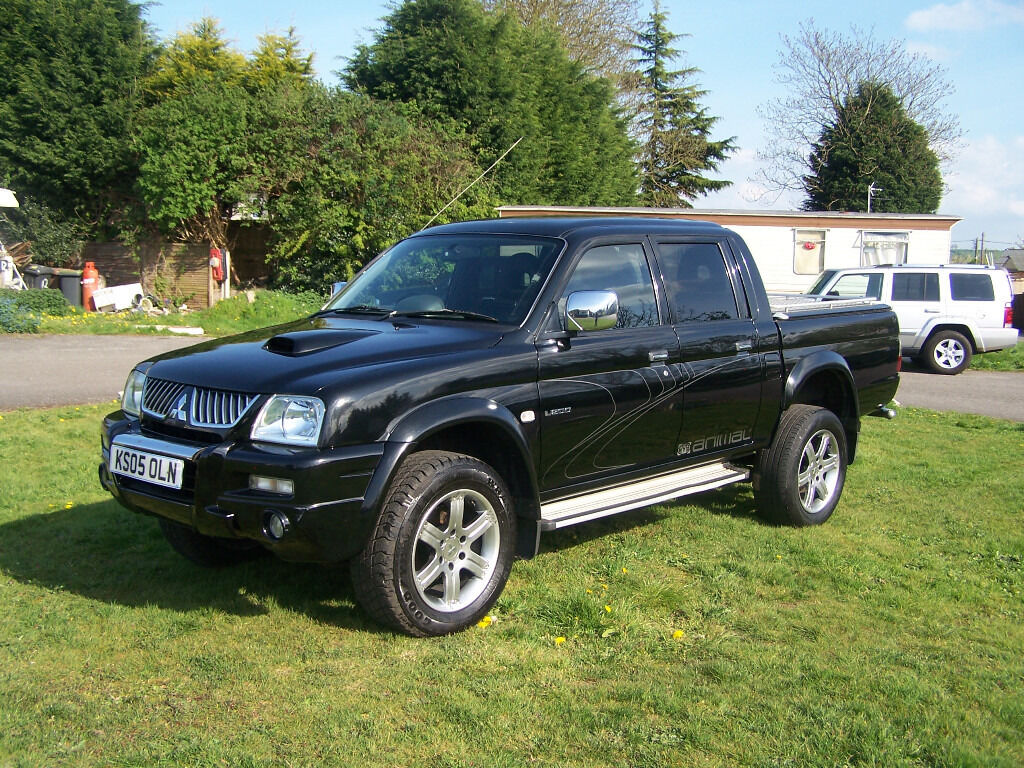 2005 Mitsubishi L200 Animal 4wd Double Cab Top Spec