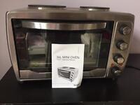Mini oven with hobb