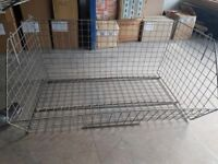 Ex warehouse display/storage baskets for sale due to surplus stock.