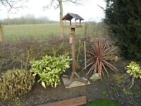 Teak Bird Table