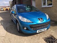 IMMACULATE PEUGEOT 207 1.4 SPORTIUM. 6781 MILES! 24 MONTH WARRANTY! FIND A BETTER ONE!