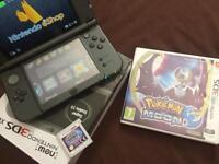 =new= Nintendo 3DS XL + Pokemon Moon