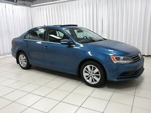 2015 Volkswagen Jetta Trendline Plus! Sunroof, Back-up Cam, Allo
