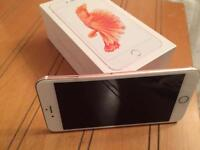 Apple iPhone 6S + Rose Gold UNLOCKED BOXED