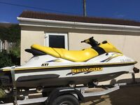 Fantastic Seadoo GTI jetski 3 seater in excellent condition all ready to go for the summer