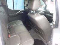 Nissan NAVARA Aventura D/C DCI,2498 cc Pick up,FSH,full heated leather interior,tow bar,Sat Nav etc