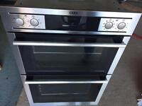 AEG double oven competence and just over 2 years