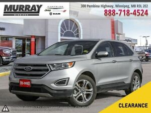 Ford Edge Titanium Leather Upholstery Heated Seats  Touch