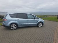 Ford S Max TITANIUM TDCI 2008, 7 seats, 6G (Alloys Privacy), MPV , TIMING BELT DONE AND NEW EXHAUST