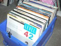 "120 x 12"" 80's Pop Vinyl Record Collection"