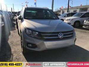 2014 Volkswagen Tiguan Comfortline | LEATHER | ROOF | AWD