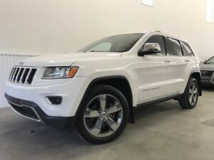 2014 Jeep Grand Cherokee LIMITED  CUIR-TOIT-GPS-MAG 20''- ET +++