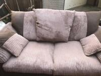 sofa bed and chair set