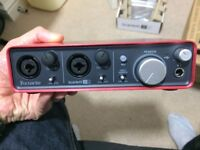BNIB Focusrite Scarlett 2i2 (1st Gen) USB 2.0 Audio Interface