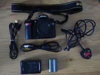 Nikon D80 DSLR body Exceelent Condition
