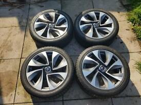 Citroen DS5 alloy wheels and tyres