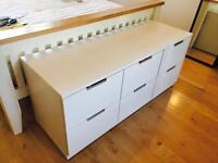 Almost New Ikea Nordli Chest of 6 Drawers For Sale! RRP £150!