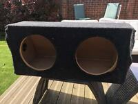 12 inch Double Subwoofer Box