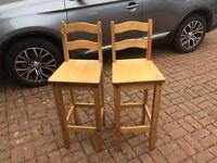 4x corona breakfast bar stools NEW