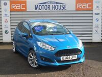 Ford Fiesta ZETEC S (£0.00 ROAD TAX) FREE MOT'S AS LONG AS YOU OWN THE CAR!!!! (blue) 2014