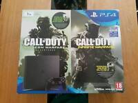 Playstation 4 with 2 games 1 tb