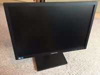 Samsung LED widescreen monitor 19 inch