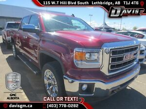 Used 2015 GMC Sierra 1500 SLT Crew Cab-Heated Leather-Power Sunr