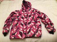 Child's Roxy ski jacket and Icepeak salopettes age 12 years