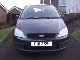 2006 Ford C-Max 1.6i LX petrole with 1 month mot drives 100% !!!!!!!!