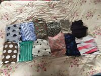 Mixed lot of women's clothing and jewellery.