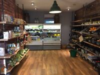 Shop - wine, beer, deli business