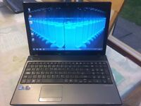 """Acer Aspire 5741 LCD LED 15.6"""" (320GB, Intel Core i3 1st Gen., 2.26GHz, 4GB)"""