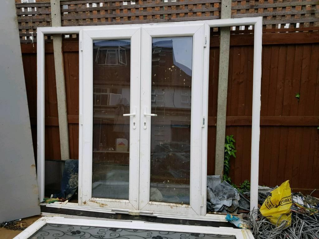 Double Glazed Patio Doors 4 Panels 2 Doors In Morden London Gumtree