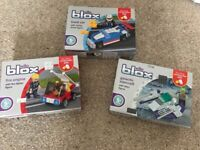 Set of three brand new Wilko Blox kits