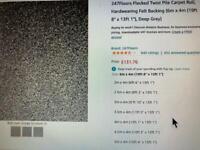 Carpet Roll 6m x 4m new