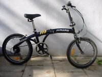 Compact Folding/ Commuter Bike by Pyramid, Excellent Condition, JUST SERVICED/ CHEAP PRICE!!!!!!!!!!