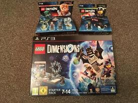 PS3 Lego Dimensions plus extra kits