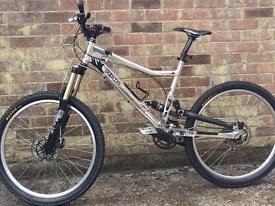 Rocky Mountain Slayer, custom polished MTB, top parts, unique bike