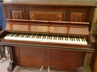 EVESTAFF INLAID PIANO £120 CAN DELIVER