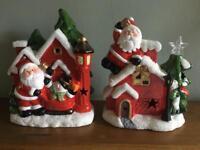 Light up Christmas houses