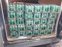 Joblot of 24 crates of relentless