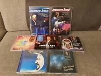 James last cds and dvds