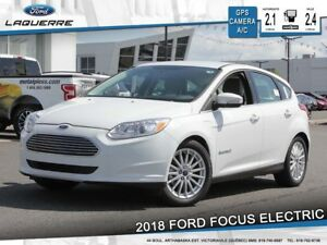 2018 Ford Focus Electric SYNC 3**GPS*CAMERA*A/C 2 ZONES*MY FORD