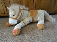 Soft Cuddly Horse Toy