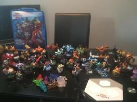 skylanders and disney infinity figures