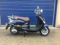 2016 LEXMOTO VERONA 125cc RETRO SCOOTER , VERY LOW MILES , FULL SERVICE HISTORY , HPI CLEAR